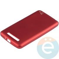 Накладка силиконовая Soft Touch на Xiaomi Redmi 4A красная