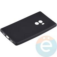 Накладка силиконовая Soft Touch на Xiaomi Mi Mix чёрная