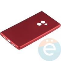 Накладка силиконовая Soft Touch на Xiaomi Mi Mix красная