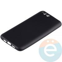Накладка силиконовая Soft Touch на Xiaomi Mi 6 чёрная