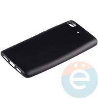Накладка силиконовая Soft Touch на Xiaomi Mi 5s чёрная
