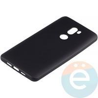 Накладка силиконовая Soft Touch на Xiaomi Mi 5s Plus чёрная