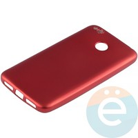 Накладка силиконовая Soft Touch на Xiaomi Redmi 4X красная