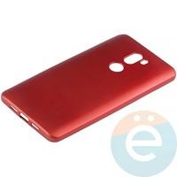 Накладка силиконовая Soft Touch на Xiaomi Mi 5s Plus красная