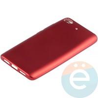 Накладка силиконовая Soft Touch на Xiaomi Mi 5s красная