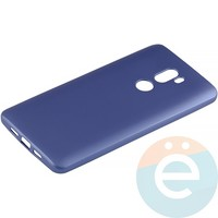 Накладка силиконовая Soft Touch на Xiaomi Mi 5s Plus синяя