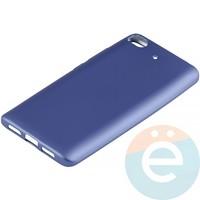 Накладка силиконовая Soft Touch на Xiaomi Mi 5s синяя