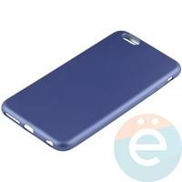 Накладка силиконовая Soft Touch на Apple iPhone 6 Plus/6s Plus синяя