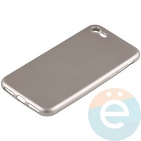 Накладка силиконовая Soft Touch на Apple iPhone 6 Plus/6s Plus золотистая