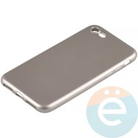 Накладка силиконовая Soft Touch на Apple iPhone 7/8 золотистая