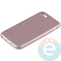 Накладка силиконовая Soft Touch на Apple iPhone 7/8 розовая
