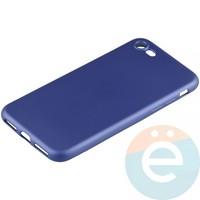 Накладка силиконовая Soft Touch на Apple iPhone 7/8 синяя