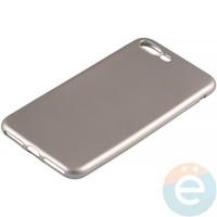 Накладка силиконовая Soft Touch на Apple iPhone 7 Plus/8 Plus золотистая