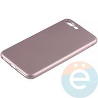 Накладка силиконовая Soft Touch на Apple iPhone 7 Plus/8 Plus розовая