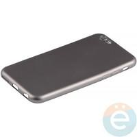 Накладка силиконовая Soft Touch на iPhone 6/6s серая