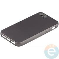 Накладка силиконовая Soft Touch на iPhone 5/5s/SE серая