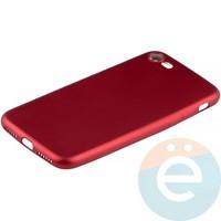 Накладка силиконовая Soft Touch на Apple iPhone 7/8 красная