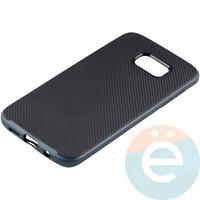 Накладка комбинированная Spigen на Samsung Galaxy S7 Edge синяя