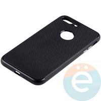 Накладка комбинированная Spigen на Apple iPhone 7 Plus/8 Plus чёрная