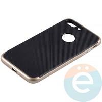 Накладка комбинированная Spigen на Apple iPhone 7 Plus/8 Plus золотистая