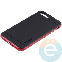 Накладка комбинированная Spigen на Apple iPhone 7 Plus/8 Plus красная