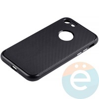 Накладка комбинированная Spigen на Apple iPhone 7/8 чёрная