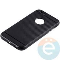 Накладка комбинированная Spigen на Apple iPhone 6/6s чёрная