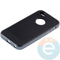 Накладка комбинированная Spigen на Apple iPhone 5/5s/SE синяя