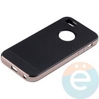 Накладка комбинированная Spigen на Apple iPhone 5/5s/SE розовая