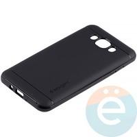 Накладка комбинированная Spigen на Samsung Galaxy J7 SM-J710 (2016) чёрная