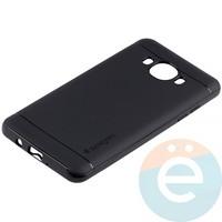 Накладка комбинированная Spigen на Samsung Galaxy J5 SM-J510 (2016) чёрная