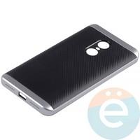 Накладка комбинированная Spigen на Xiaomi Redmi Note 4 серебристая