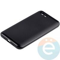Накладка комбинированная Spigen на Xiaomi Mi 6 чёрная