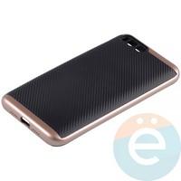 Накладка комбинированная Spigen на Xiaomi Mi 6 розовая
