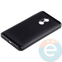 Накладка комбинированная Spigen на Xiaomi Redmi Note 4x чёрная