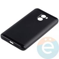 Накладка комбинированная Spigen на Xiaomi Redmi 4 чёрная