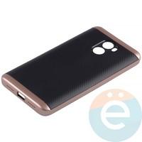 Накладка комбинированная Spigen на Xiaomi Redmi 4 розовая