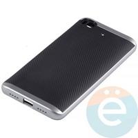 Накладка комбинированная Spigen на Xiaomi Mi 5s серебристая