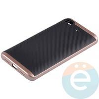 Накладка комбинированная Spigen на Xiaomi Mi 5s розовая