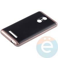Накладка комбинированная Spigen на Xiaomi Redmi Note 3 розовая