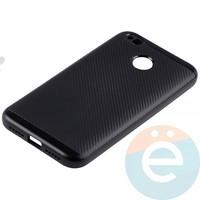Накладка комбинированная Spigen на Xiaomi Redmi 4x чёрная