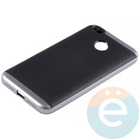 Накладка комбинированная Spigen на Xiaomi Redmi 4x серебристая