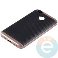 Накладка комбинированная Spigen на Xiaomi Redmi 4x розовая