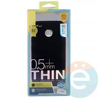 Накладка силиконовая j-Case на Xiаomi Redmi 4x чёрная