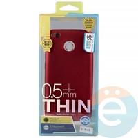 Накладка силиконовая j-Case на Xiаomi Redmi 4x красная