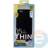 Накладка силиконовая j-Case на Apple iPhone 6/6s чёрна Appleя