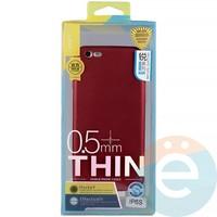 Накладка силиконовая j-Case на Apple iPhone 6/6s красна Appleя