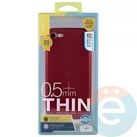 Накладка силиконовая j-Case на Apple iPhone 7/8 красна Appleя