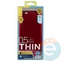 Накладка силиконовая j-Case на Apple iPhone 6 Plus/6s Plus красна Appleя