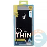 Накладка силиконовая j-Case на Meizu Pro 6 чёрная